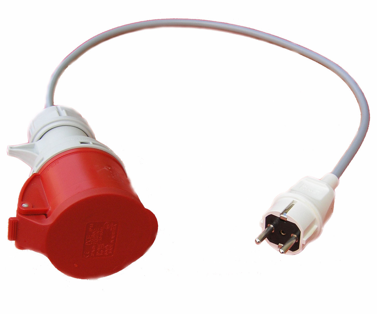 stecker adapter schuko cee 16a car go electric. Black Bedroom Furniture Sets. Home Design Ideas